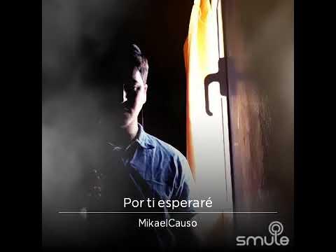 Por ti esperaré - Luis Pedraza - Cover - Mikael Causo