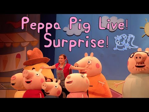 NEW Peppa Pig Live! Surprise Show at the Rosemont Theater
