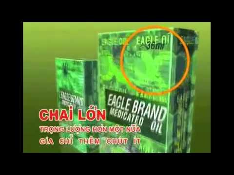 Eagle Brand - Dầu gió xanh con ó