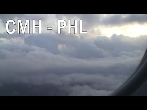 Full Flight Experience - Columbus, OH (CMH) to Philadelphia (PHL)