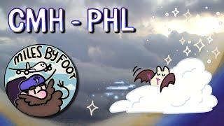 Full Flight Experience - Columbus, OH (CMH) to Philadelphia (PHL)