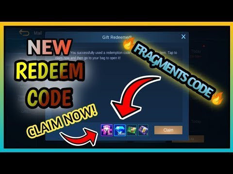 """2 Working"" REDEEM CODES in MOBILE LEGENDS 