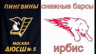 2005 РОЛИК Пингвины  Снежные барсы счёт 1 616.09.2018