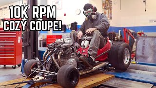 550cc Little Tikes Go Kart hits the Dyno!