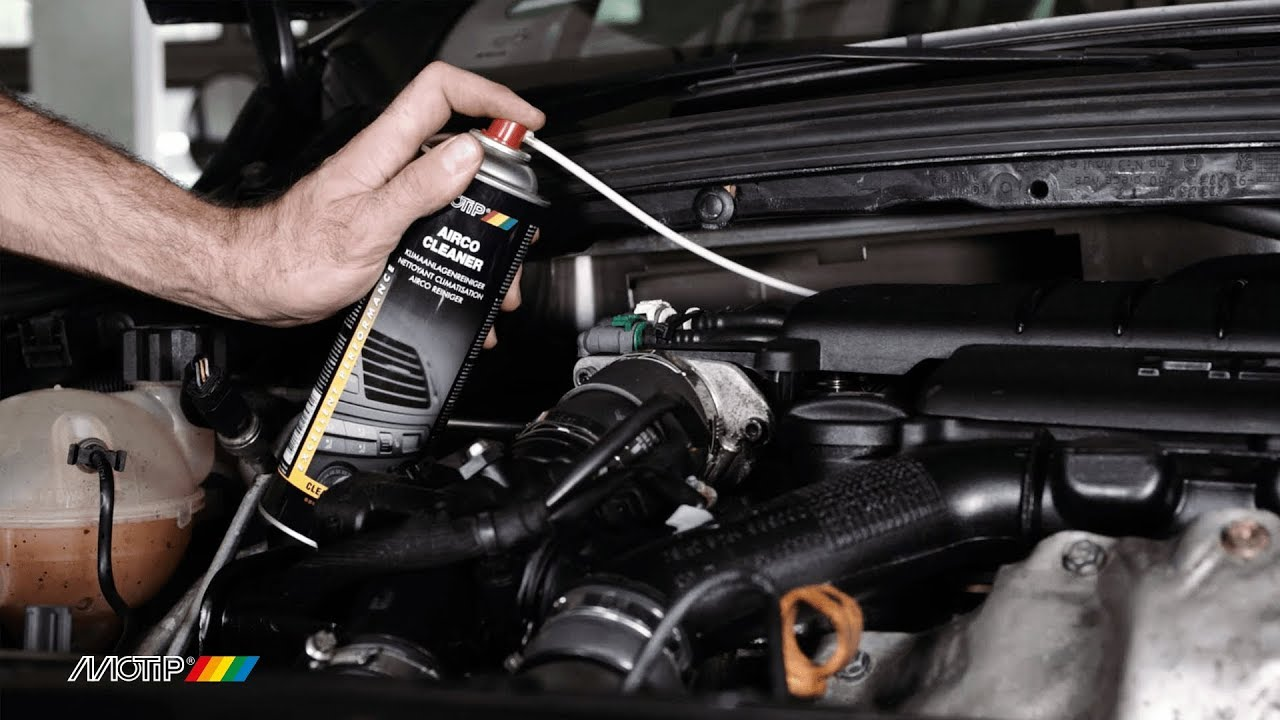 How To Clean The Airco Of Your Car With Motip Airco