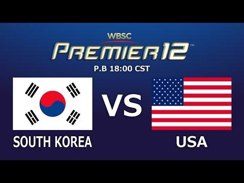 Game 27: S Korea vs USA WBSC Premier12