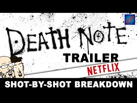 Death Note Live Action Trailer - Shot-by-Shot Reaction, Analysis & Discussion