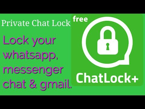 How To Protect Your   Whatsapp And Messenger Chat History Easily  