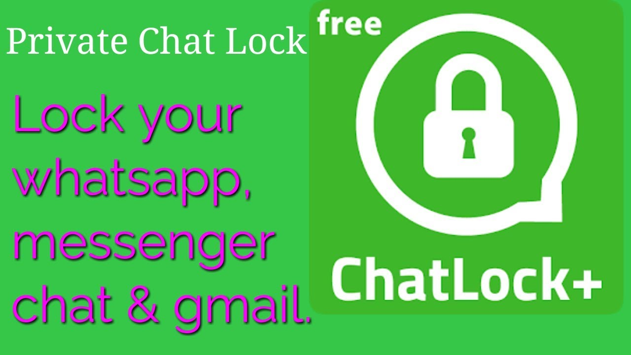 How to Lock Private Whatsapp And Messenger Chat| social chat and gmail lock  | Bangla