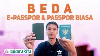 PERBEDAAN E-PASSPOR & PASSPOR BIASA! SUB : ENGLISH