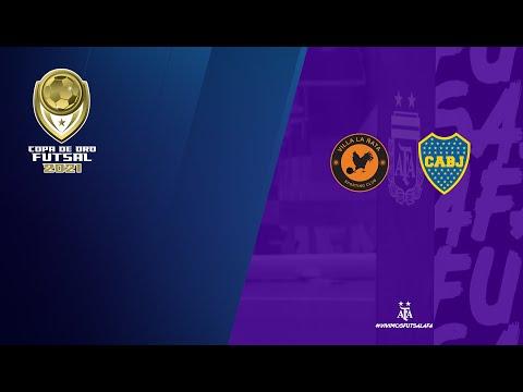 #Futsal #CopadeOro2021. Cuartos de Final: Villa La Ñata - Boca Juniors
