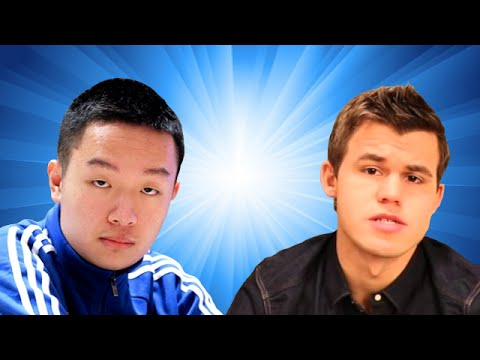 Wei Yi vs Magnus Carlsen - 2016 Tata Steel Chess Tournament