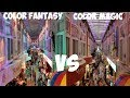 Differences between Color Fantasy and Color Magic