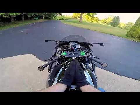 Kawasaki Ninja H2R - The Lost Street Legal H2R MotoVlogs