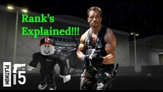Roblox Blackhawk Rescue Mission Rank's Explained!!!