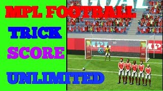MPL PRO FOOTBALL Unlimited TRICK, NEW GAME