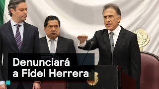 Miguel Ángel Yunes denunciará a Fidel Herrera - Despierta con Loret