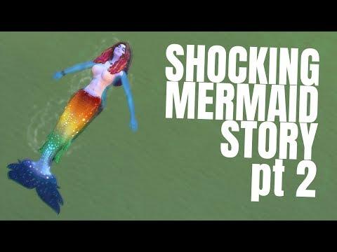 *drama intensifies* - MERMAID STORY #2  - THE SIMS 4 ISLAND LIVING - Funny Mermaid Moments