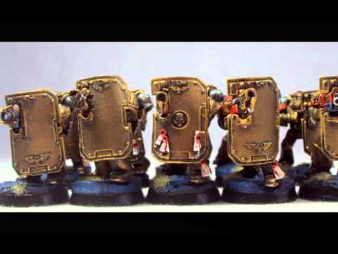 Paintedfigs.com - Minotaurs Space Marines, Lee Jones - YouTube
