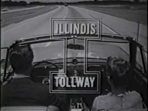 Vintage Illinois Tollway Video - Tension-Free Driving
