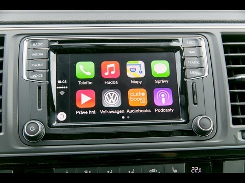 telerano volkswagen multivan s apple carplay a android. Black Bedroom Furniture Sets. Home Design Ideas