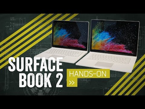 Surface Book 2 Hands-On: Now In Jumbo & Junior Sizes