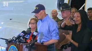 Hurricane Jose pushing water to northern Florida Governor