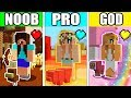 Minecraft - NOOB vs PRO vs GOD : GIRL AND SUPER CANDY PET in Minecraft Animation