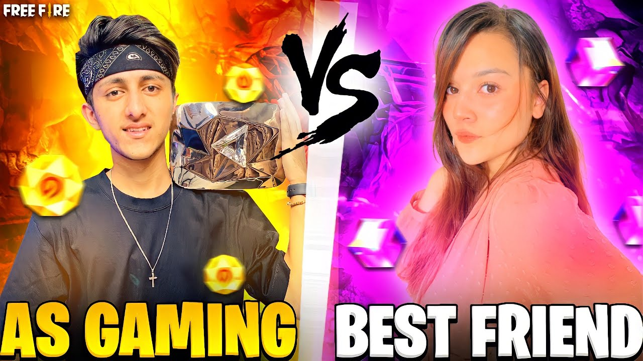 My Bgmi Pro Friend Challenged Me For 1 vs 1 Who will win? 10,000 💎 Diamond Challenge - Free Fire