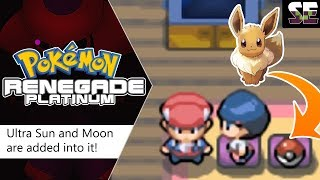 NEW NDS Rom 2018 with Ultra Sun and Moon stats is added into, Pokemon Renegade Platinum