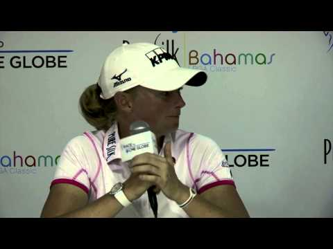 Stacy Lewis' Runner-Up Interview at the 2014 Pure Silk Bahamas LPGA Classic