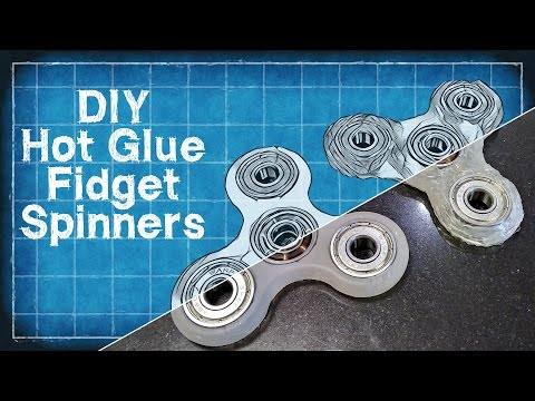 DIY Hot Glue Fidget Spinner - DIY with Cly Ep. 4