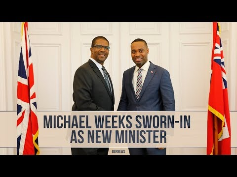 Michael Weeks Sworn-In As New Minister, Feb 7 2017