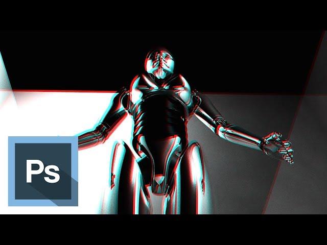 Tutorial Photoshop - Efecto Fotográfico en 3D
