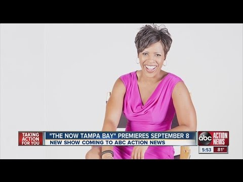 """The Now Tampa Bay"" premieres Sept. 8 on your ABC Action News station"