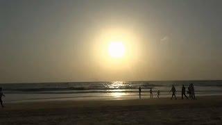Закат солнца на Гоа. Закат смотреть онлайн. Заход солнца. Закат солнца на море. . Закат на море.