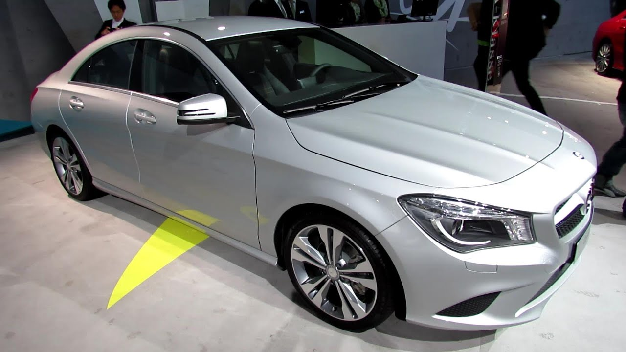 2014 mercedes benz cla 180 exterior and interior. Black Bedroom Furniture Sets. Home Design Ideas