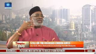 We Are All Delighted With The Release Of Chibok Girls-- Factional Secretary PDP Pt 3