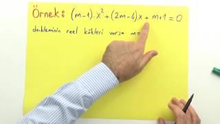 2. Dereceden eşitsizlikler 2 Şenol Hoca Matematik