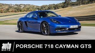 2018 Porsche 718 Cayman GTS Essai POV ASCARI Auto-Moto.com