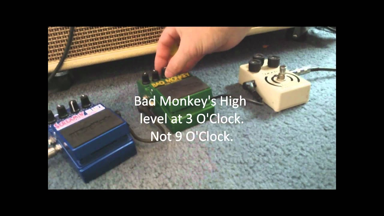 bad monkey screaming blues zakk wylde mxr gibson sg special univox u1226 youtube. Black Bedroom Furniture Sets. Home Design Ideas