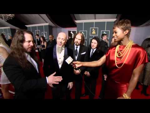 Dream Theater red carpet interview at Grammys 2012