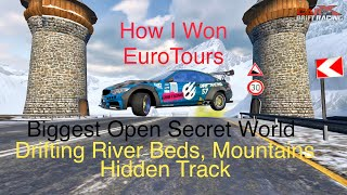 CarX EuroTour Top Prize Car And How I Won. Drifting Hidden Open World, Secret Track.