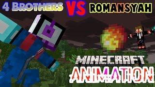 Akhir Dari Brocoli - 4 Brothers VS Romansyah   Minecraft Animation Indonesia (Eps. 2)