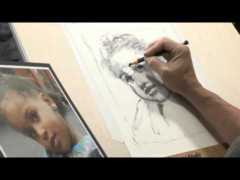 How to Draw Like an Artist: Creating a Portrait Sketch