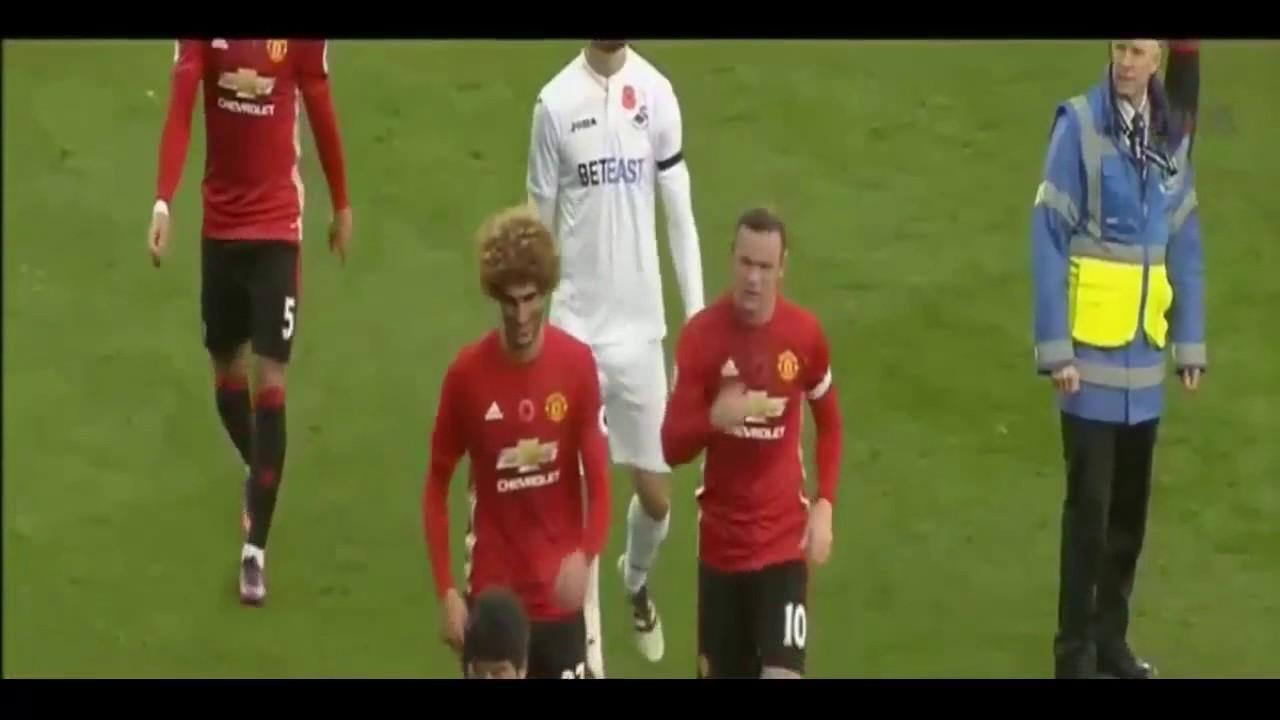 Download Swansea vs Manchester United 1 3  Resuman 06 11 2016