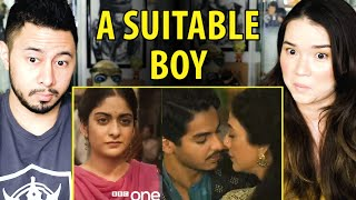A SUITABLE BOY | Tanya Maniktala | Tabu | Ishaan Khattar | BBC One | Trailer Reaction | Jaby Koay