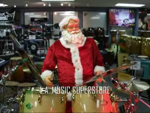 L.A. Music Canada - Holiday Greeting Featuring Santa!