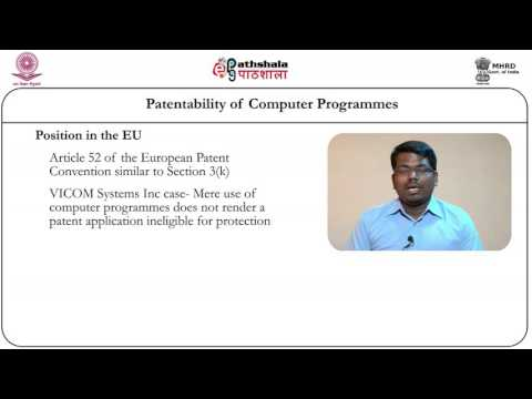 Patentability of computer programmes