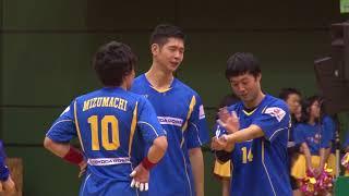 日本ハンドボールリーグ 豊田合成 vs 大崎電気(2017年12月16日 稲沢ホーム大会)